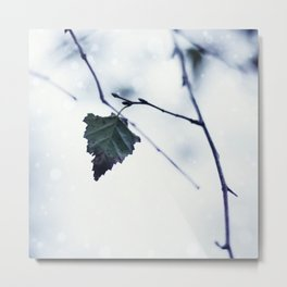 The last leaf Metal Print