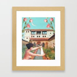 Dreams of the Alhambra Framed Art Print
