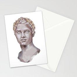Lando Norris Statue Portrait Stationery Cards