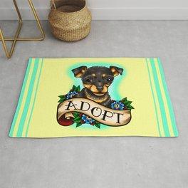 Adopt a Dog Rug