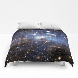 LH 95 stellar nursery in the Large Magellanic Cloud (NASA/ESA Hubble Space Telescope) Comforters