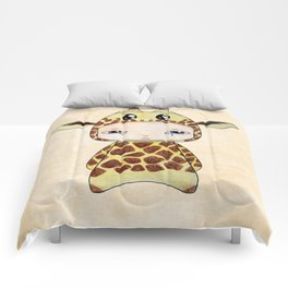 A Boy - Giraf Comforters