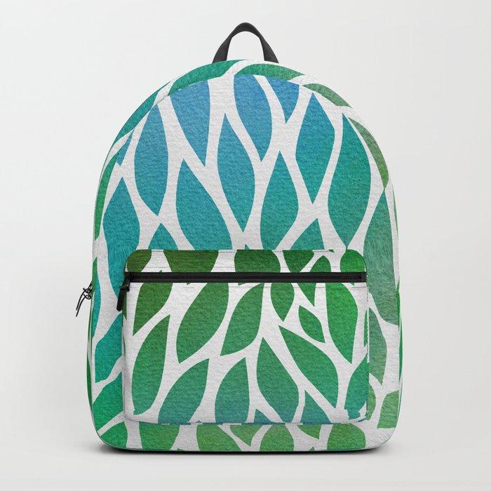 Petals Pattern #2 Backpack