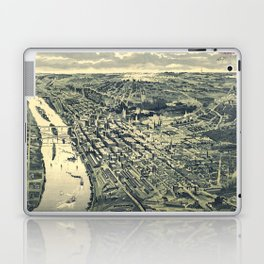 Vintage Map of St. Paul MN (1893) Laptop & iPad Skin