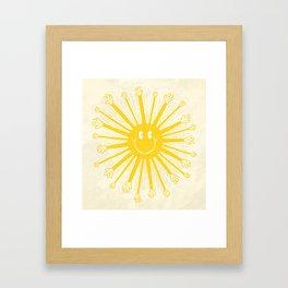 Heat Wave Framed Art Print