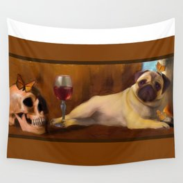 Pug Life Wall Tapestry