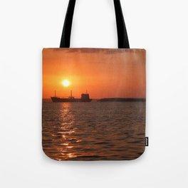 Sunset in Cuba Tote Bag