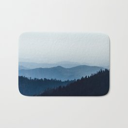 blue mountains Bath Mat