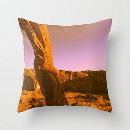 Under the Arch Throw Pillow