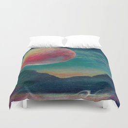 On The Nature Of Moonlight Duvet Cover