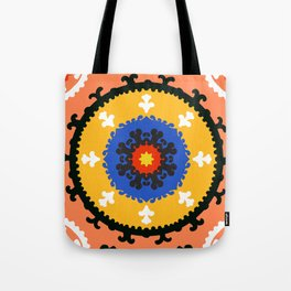 Bold and bright beauty of suzani patterns ver.8 Tote Bag