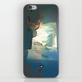 BLACK Electronic Underground #3 iPhone Skin