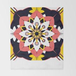 Poppy Blossom Throw Blanket