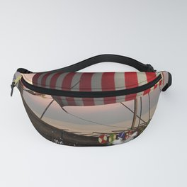 The  viking longship Fanny Pack