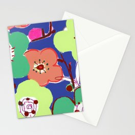 Plum Blossom Stationery Cards