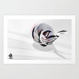 """SPHERE"" Art Print"