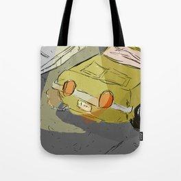 Poorly Drawn Car Tote Bag