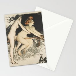 WITCHES - JEAN VEBER  Stationery Cards