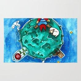Little Prince - original illustration Rug