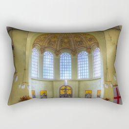 St George In The East Church London Rectangular Pillow