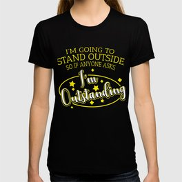 Word Game Outstanding Outstanding funny gift T-shirt