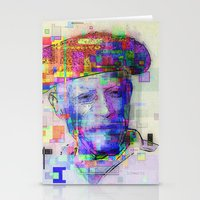 picasso Stationery Cards featuring Pablo Picasso by Steve W Schwartz Art