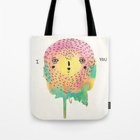 sloth Tote Bags featuring sloth by Alba Blázquez