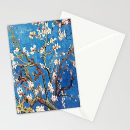 Van Gogh Branches of an Almond Tree in Blossom Stationery Cards