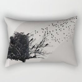 Forgotten tree Rectangular Pillow
