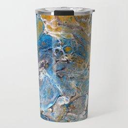 Mineralogy - Abstract Flow Acrylic Travel Mug