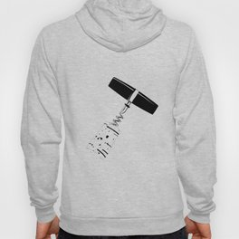 Corkscrew and Cork Drawing Hoody
