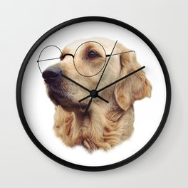 Nerd Doggo Wall Clock