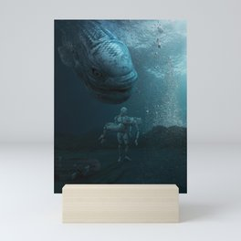 SHIP WRECK Mini Art Print
