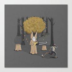 Deforest this Canvas Print