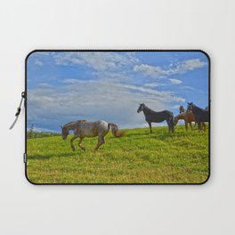 A Fine Case of the Happies Laptop Sleeve