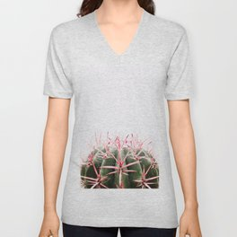 cactus red Unisex V-Neck