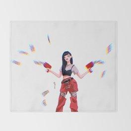 Red Velvet Seulgi Throw Blanket