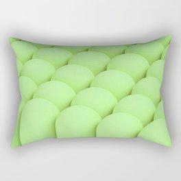 Green tubes Rectangular Pillow