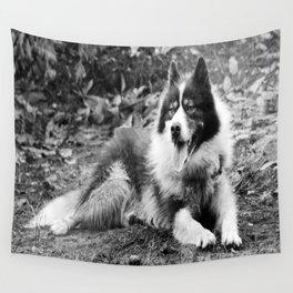 greenland dog Wall Tapestry