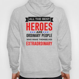 Super Heroes Superheroes Extraordinary Powers Hoody