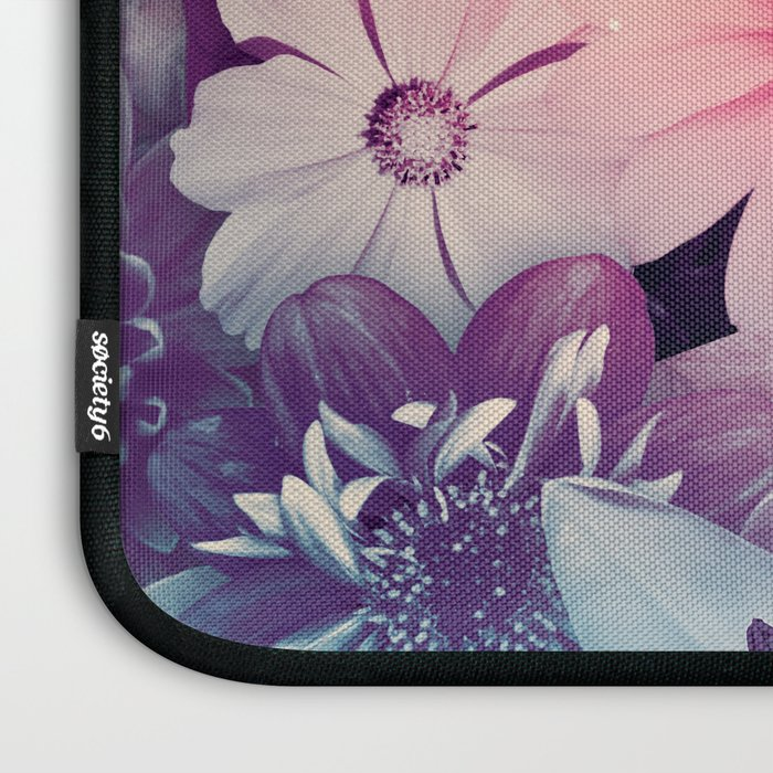 Hipster Flowers Laptop Sleeve
