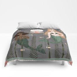 mermaid tapestry Comforters
