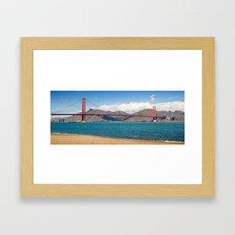San Francisco, Golden Gate Bridge Framed Art Print