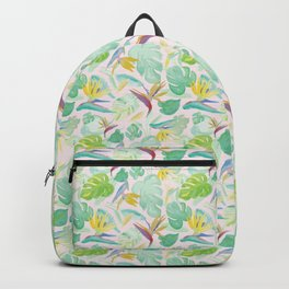 Birds of Paradise Pattern Backpack