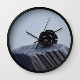 pomme de pin Wall Clock