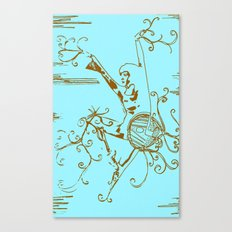 Tiny Dancer [Locust] Canvas Print