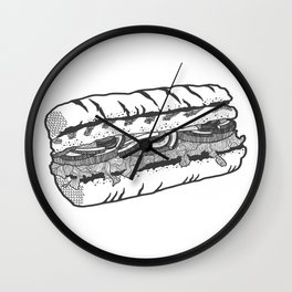 one veg for me, please. Wall Clock