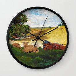 Warm Afternoon - Digital Remastered Edition Wall Clock
