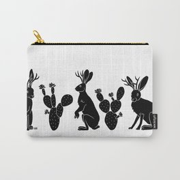 Jackalopes & Prickly Pears II Carry-All Pouch