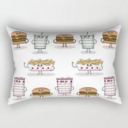BFF: Meal Deal Rectangular Pillow